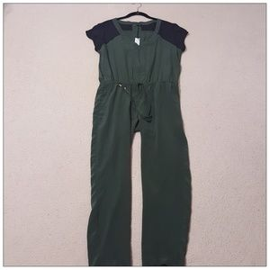 Beautiful Pine Silk Jumpsuit